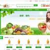 【免费下载】绿色的蔬菜水果商城模板带商品详情页面列表页